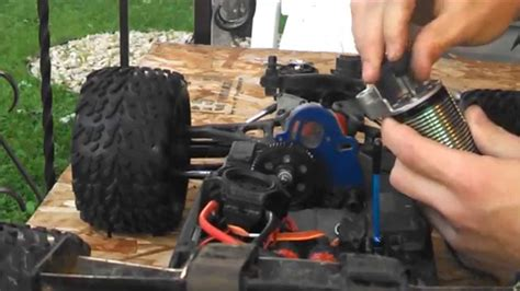 Gear Set Revo Absulute how to set rc gear mesh traxxas e revo brushless edition hd