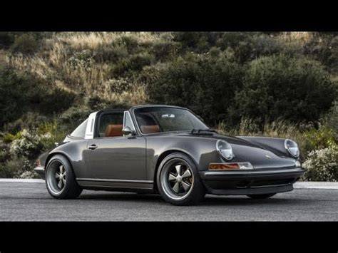 porsche singer black the porsche 911 targa restored by singer