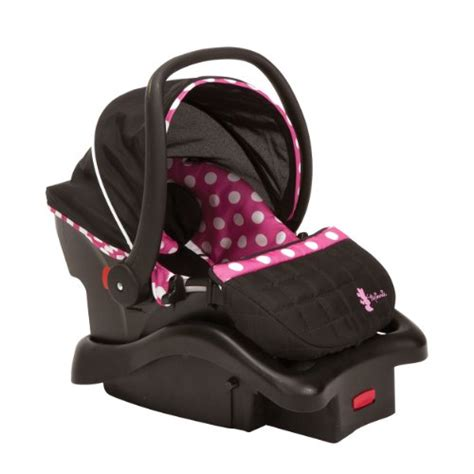 disney minnie mouse car seat and stroller disney baby gear stroller and travel system bundle with