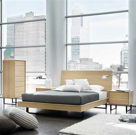 modern furniture in seattle kasala modern wood floating platform bed bedroom set