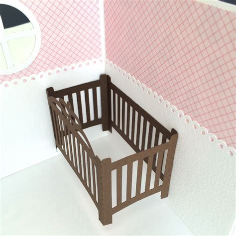 pop up crib card template 17 best images about card folds on gift cards