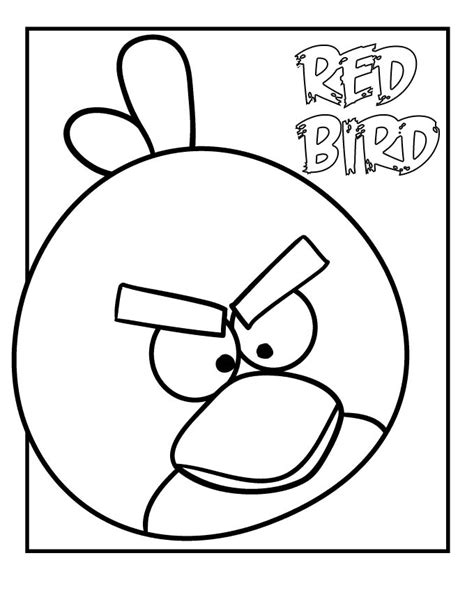 Free Printable Angry Bird Coloring Pages For Kids Angry Birds Free Coloring Pages
