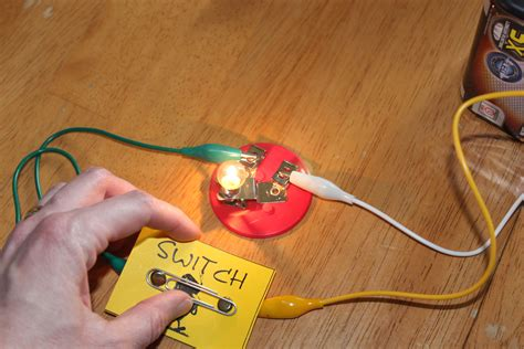 how to make a electric circuit with switch electricity experiments for frugal for boys and