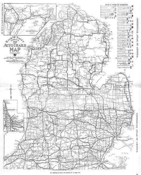 printable road maps of michigan popular 254 list michigan road map