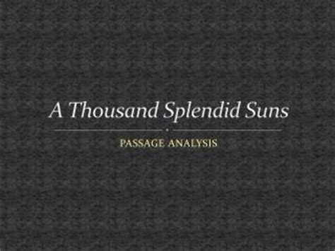 possible themes in a thousand splendid suns ppt a thousand splendid suns powerpoint presentation