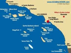 islands california coast map island california cali been there done that
