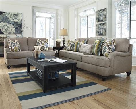 hariston sofa and loveseat ashley furniture hariston shitake 2550035 loveseat with