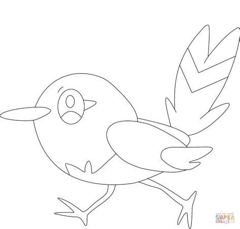 pokemon coloring pages talonflame fletchling kleurplaat gratis kleurplaten printen