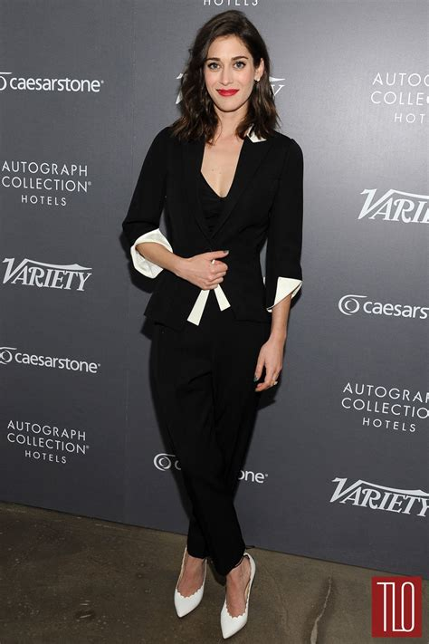 lizzy fromblack list hair lizzy caplan in andrew gn at variety s actors on actors