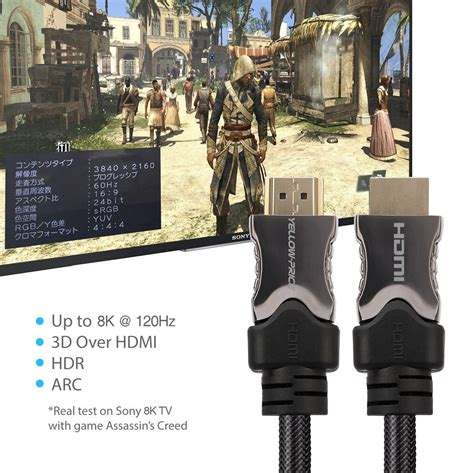 hdmi 2 1 48gbps cable hdmi v2 1 cable up to 8k 120hz ultra high speed 48