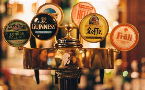 Bar Tap Beer Alcohol Signs Text Macro Drinks Wallpaper On Tap Bar