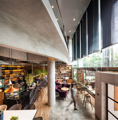 coffee shop 314 architecture studio archdaily storyline cafe junsekino architect and design archdaily