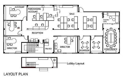 layout of the office simple architecture layout steps for an office designing