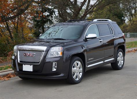 2014 gmc terrain denali v6 awd road test review the car