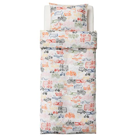 Quilt Pillowcase by Ljudlig Quilt Cover And Pillowcase Multicolour 150x200