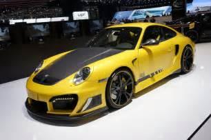 Techart Porsche Geneva 2012 Techart Tuning Program For The New Porsche 911