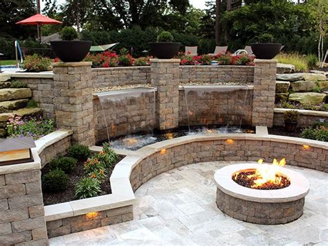patio wall lights 1000 ideas about patio pits on pits