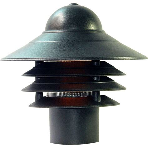 Acclaim Lighting Mariner Matte Black Outdoor Post Mount Black Outdoor Light Fixtures