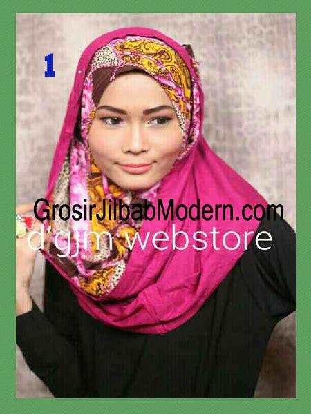 Syari Latifa jilbab instant syria hoodie latifa trendy no 1 grosir