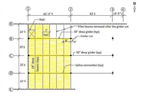 2nd floor framing plan construction incidents investigation engineering reports