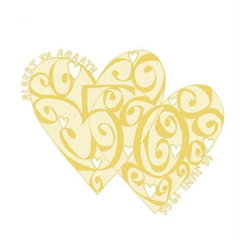 Wedding Anniversary Golden by Personalised Golden Wedding Anniversary Card Must Dash