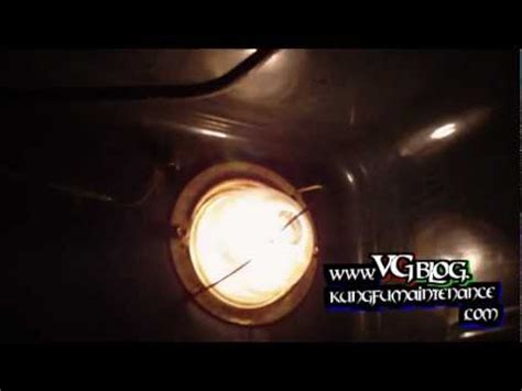 how to change oven light how to change out an oven light that is not working