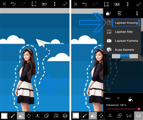 tutorial picsart android keren tutorial picsart cara edit foto scrapbook 3d di android