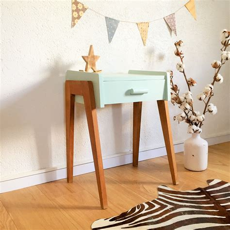table de nuit bebe table de nuit vintage scandinave chambre de b 233 b 233 table