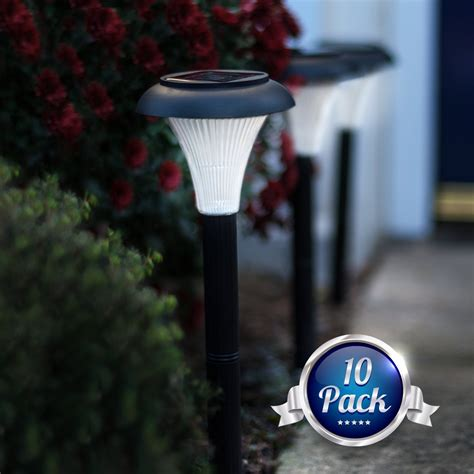 outside lights without electricity best solar path lights reviews top best reviews