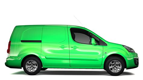 peugeot van 2017 peugeot partner van l2 2slidedoors 2017 3d model buy