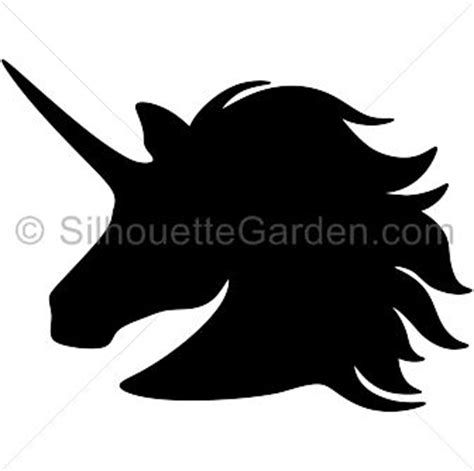 printable unicorn silhouette unicorn head silhouette clip art download free versions