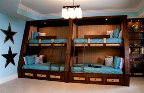 4 bed bunk bed 22 bunk beds for four a space saving solution for shared