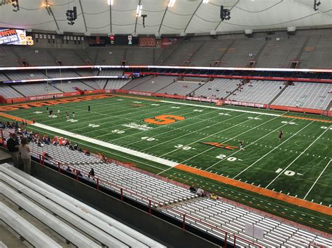 dome section carrier dome section 334 syracuse football
