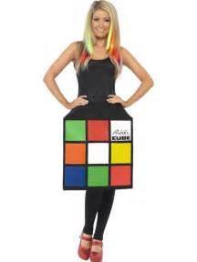 Rubik s cube costume is a funny 80s halloween costume idea