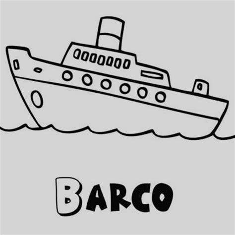 barco dibujos faciles barco para colorear nico dibujos de barcos en el mar