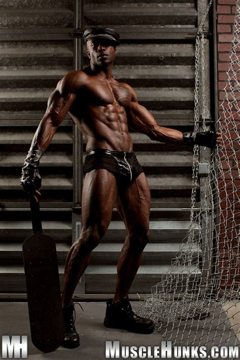 Gay Leather Man Sylvester Randolph At Muscle Hunks Men For Men Blog