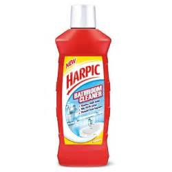bathroom toilet cleaner harpic bathroom cleaner lemon 500 ml buy at best