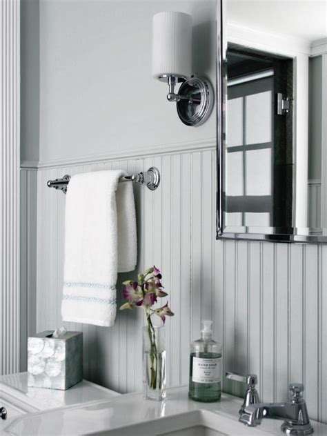 how to put up beadboard in bathroom beadboard bathroom designs pictures ideas from hgtv hgtv