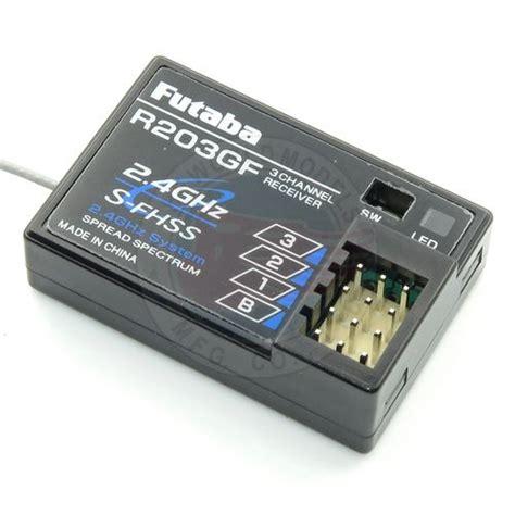 Futaba R203gf 3 Channel 2 4ghz S Fhss Receiver futaba r203gf 2 4ghz 3 channel fhss receiver the world