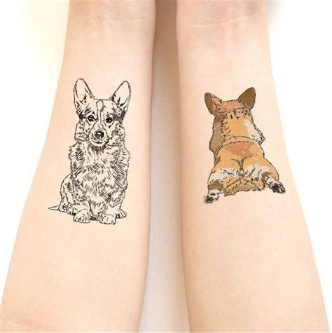 corgi tattoo 25 best ideas about corgi on pet