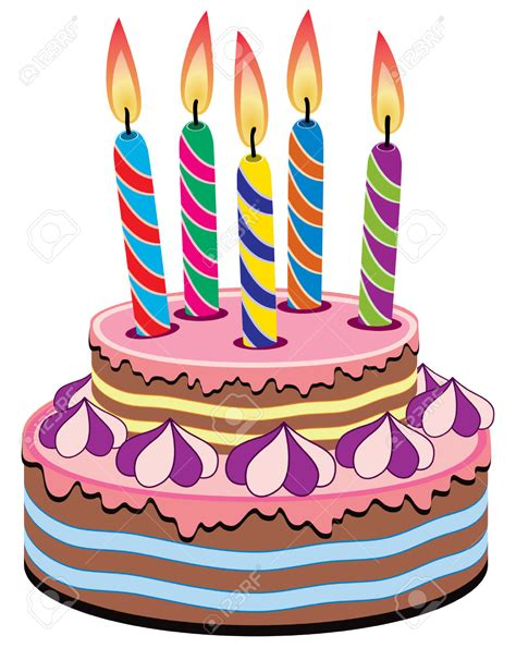 torta clipart birthday cake with lots of candles clipart vector and png