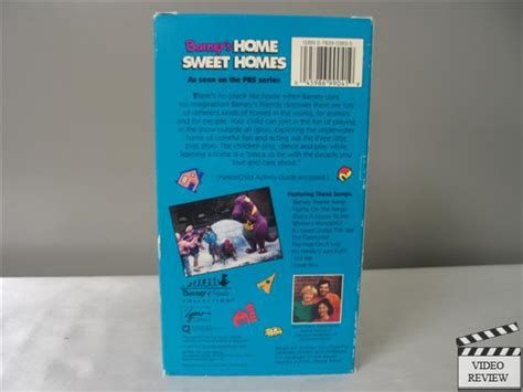 barney home sweet homes vhs