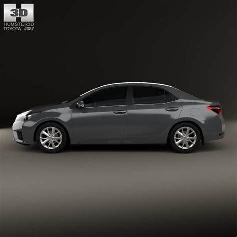 Toyota Models 2014 Toyota Corolla Sedan 2014 3d Model Humster3d