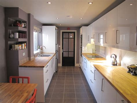 Small Kitchen Lighting by London Terraced House 187 Kent Griffiths Design