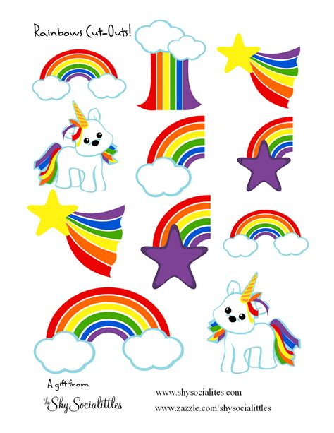 free printable unicorn tags free rainbow and unicorns sticker printable freebies