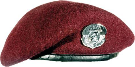 Topi Baret Suad By Bareto maroon beret