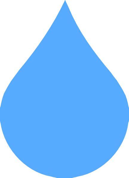 raindrop clip light blue drop clip at clker vector clip