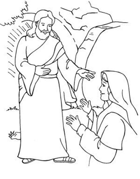 coloring pages for resurrection of jesus 17 best images about kleurplaten paasverhaal on