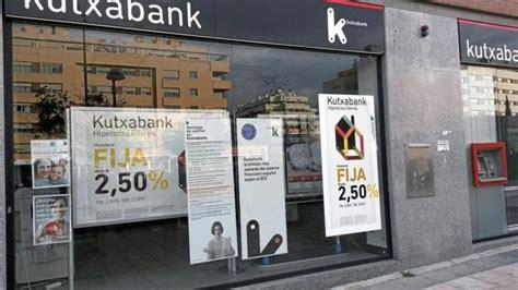 oficina kutxabank madrid el tipo fijo revoluciona las hipotecas vivienda el mundo