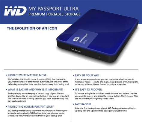 Premium Quality Hardisk External Wd My Passport Ultra 2 5 2tb Usb 3 0 western digital my passport ultra 1tb 2tb portable drive usb3 0